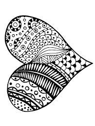 Love Printable Adult Coloring Page