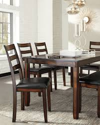 Furnituremaxx 6 PC Chrovia Casual Brown Color Dining Room ...