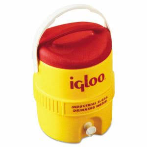 Igloo Poly Beverage Dispenser - 2gal, Yellow