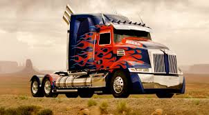 Optimus Prime Truck Wallpaper ·①