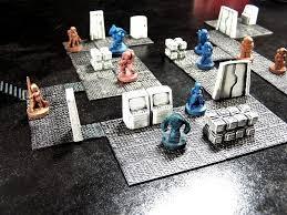 Making 3d Dungeon Tiles by 3d Printed Wayfarer Tactics Modular Terrain System Simple