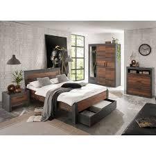 schlafzimmer komplett set berlin s 61 im industrial look matera anthr
