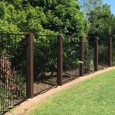 15 Ft H X 15 Ft W Artificial Leaf Ficus Gold Fence Panel