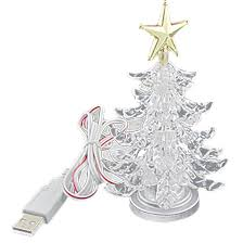 Walgreens Christmas Trees 2013 by Amazon Com Usb Powered Miniature Christmas Tree Multicolor Leds