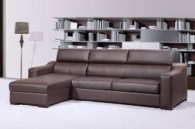 Brown Sectional Living Room Ideas by Simple Brown Sectional Sofa Bed Simple White Wall Floor Lamp