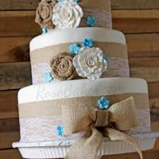Rustic Wedding Shower Sheet Cake