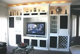 Built In Wall Cabinets Entertainment Centers Custom Unit For