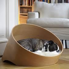 coussin de luxe pour canapé luxe pour chien covo chêne clair