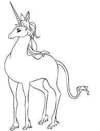 The Last Unicorn Coloring Pages Movie Printable Pdf Pag