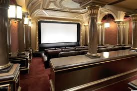 Home Interiors : Luxury Home Theater Room Ideas With Beige Leather ... Home Theater Room Design Simple Decor Designs Building A Pictures Options Tips Ideas Hgtv Modern Basement Lightandwiregallerycom Planning Guide And Plans For Media Lighting Entrancing Rooms Small Eertainment Capvating Best With Additional Interior Decorations Theatre Decoration Inspiration A Remodeling For Basements Cool Movie Home Movie Theater Sound System