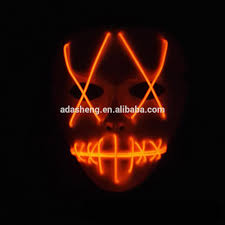 Purge Masks Halloween Express by Light Up Led Purge Mask For Halloween Party Buy Led Purge Mask