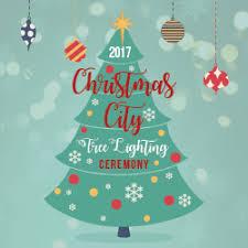 Christmas City Tree Lighting Ceremony