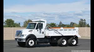 2003 International 7600 8-10 Yard Dump Truck For Sale - YouTube