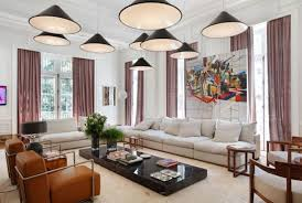 lighting ideas living room multi cone shade pendant ls over