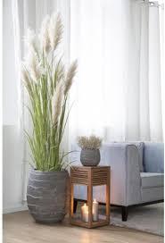 fink übertopf cocon grau blumenübertopf blumentopf beton optik höhe 38 cm ø 45 handgefertigt wohnzimmer in und outdoor geeignet grau zubehör