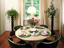 Dining Room Table Decorating Ideas by Cute And Small Dining Spaces