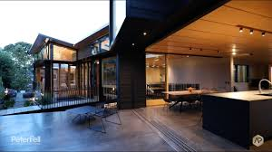 100 Bay Architects PeterFell Coloured Concrete Floor House By SGA