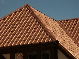 metal roof that looks like clay tile