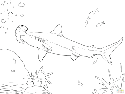 Shark Tale Coloring Pages Online Boy Lava Girl Great White Printable Click Hammerhead View Version Color