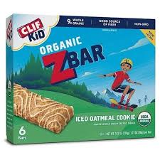 84 Clif Bar Kid Zbar Organic Snack Iced Oatmeal Cookie Exp 11 08 15 Ew3835p
