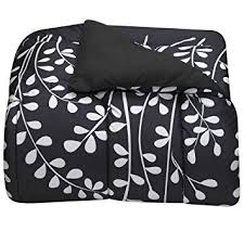 amazon com black and white vines twin xl comforter for college