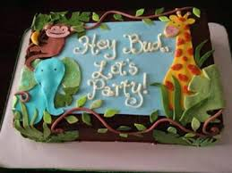 Safari Cakes Baby Shower Jungle Safari Cake Baby Shower Cake Jungle