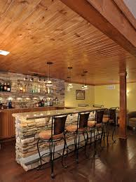 Unfinished Basement Ceiling Paint Ideas by Basement Bar Ideas And Designs Pictures Options U0026 Tips Hgtv