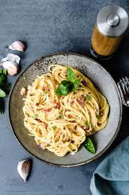 spaghetti carbonara einfach klassisch ohne sahne