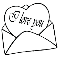 Coloring Pages Of Hearts With Arrows Cute Love Heart