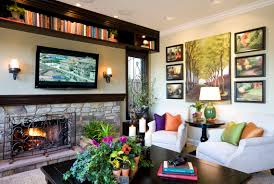 modern traditional home family room robeson design san diego