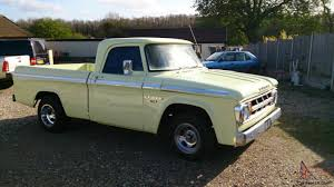 Dodge D100 1968 Shortbed Pickup 340 MOPAR