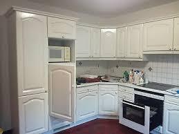 einbauküche küche mdf landhaus weiss l form siemens miele
