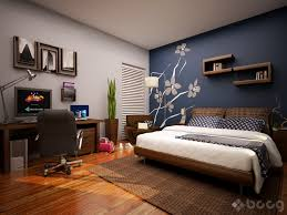 Google Image Result For Cdnhome Designing Wp Content Uploads 2010 11 Cool Bedroom With Skylight Blue Accent Wall Mural