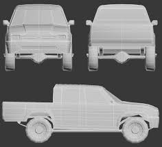 100 Toyota Pickup Truck Models Model Week 24 Jade Silver