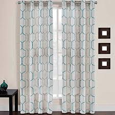 Dkny Mosaic Curtain Panels by Girls U0027 Bedroom Portinari Grommet Top Window Curtain Panel