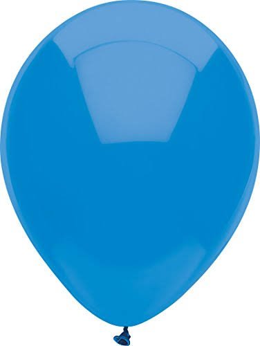 "Pioneer Balloons - Bright Blue, 12"", 72ct"