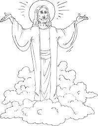 Christ Is Risen Coloring Page