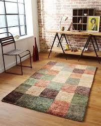 Check Carpet by Hemp Check Rug Knotted Rugs Online Capital Rugs Uk
