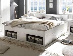 bett doppelbett westerland 180x200cm mit bettschubladen pinie weiß neu