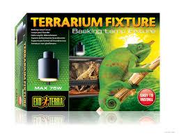 Basking Lamp For Chameleon by Exo Terra Terrarium Fixture Basking Lamp Fixture