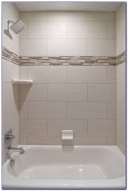 accent tile in shower tiles home design ideas