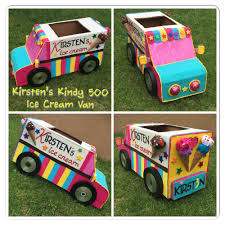 Kindy 500 Cardboard Ice Cream Van By Melissa L. | My Creations ...