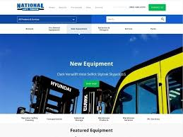 100 National Lift Truck Service Dynamic Website Designed And Developed For