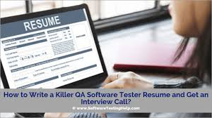 How To Write A Killer QA Software Tester Resume And Get An ... 10 Ecommerce Qa Ster Resume Proposal Resume Software Tester Sample Best Of Web Developer Awesome Software Testing Format For Freshers Atclgrain Userce Sign Off Form Checklist Qa Manual Samples For Experience 5 Years Format Experience 9 Testing Sample Rumes Cover Letter Templates Template 910 Examples Soft555com Inspirational Fresh Unique