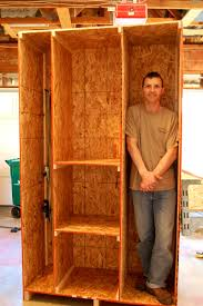 how to build shelves in garage pleasant home design