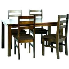 Dining Table And Four Chairs 4 Room Black