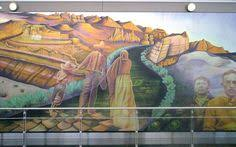 Denver Colorado Airport Murals by Image Detail For Strong And Of Good Courage Denver International