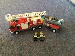 Lego City Fire Engine And Small Rescue Dinghy 7239 | In Aberdeen ... Lego City Fire Truck Free Transparent To The Rescue Level 1 Lego Itructions 60110 Station Book 3 60002 Sealed Misb Toys Games On Carousell Brigade Kids Amazoncom Scholastic Reader Ladder 60107 Engine Burning 60004 7239 Bricks Figurines City Airport With Two Minifigures And