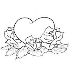 How To Draw Hearts And Roses Step By Tattoos Pop Culture
