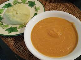 Both Peanut Tomato Y Vegetable And Meat Soup Fufu Are Popular Throughout West Central Africa They Very Common In Ghana But Since I Just